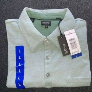 NWT Men's Buffalo David Bitton Stretch Polo Shirt